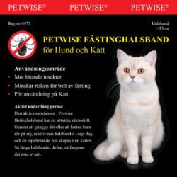 PETWISE FÄSTINGHALSBAND FÖR...
