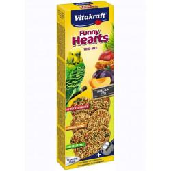 Crispy Heart 3 st, Undulat