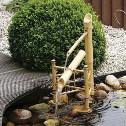 Dekorset Bambu set (utan...