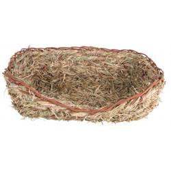 Gräsbädd för kanin, 33 × 12...