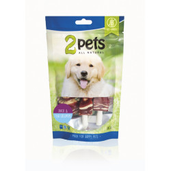 2pets Dogsnack Duck/Fish...