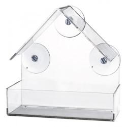 Vildfågelmatare för fönster