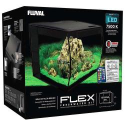 FLUVAL FLEX LED 57L SVART...