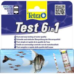 TETRA TESTSET 6IN1 25ST...