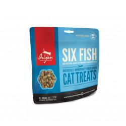 Orijen Cat Treats 6 Fish  |...